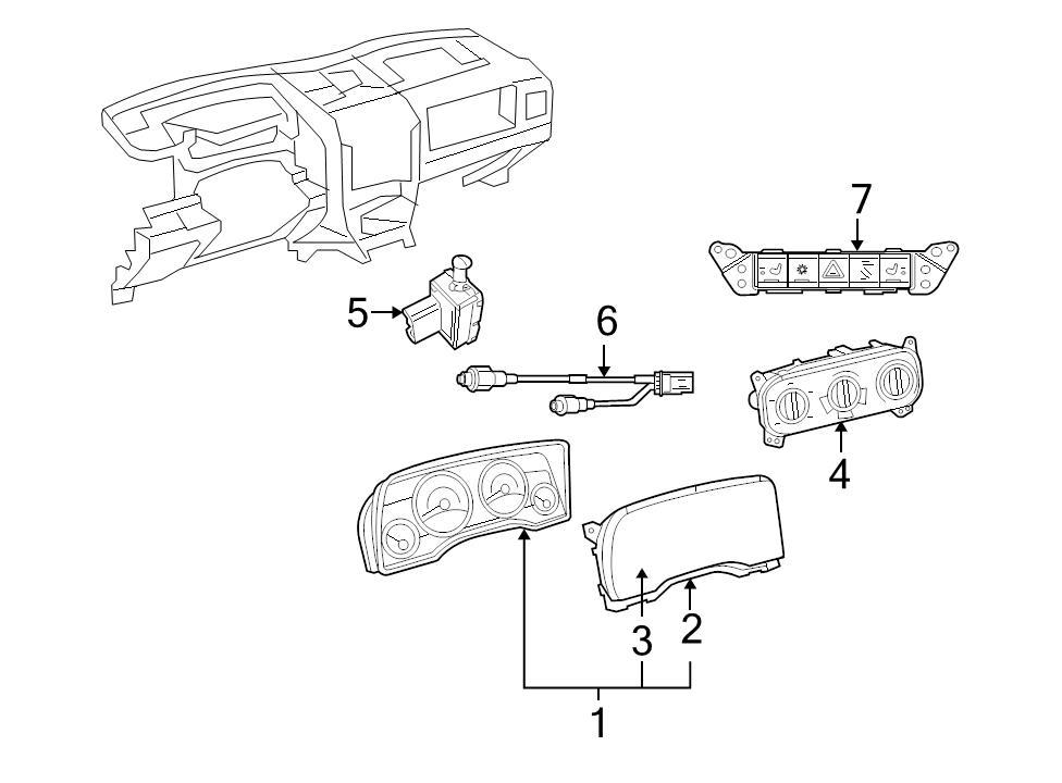 Brand New Oem Clutch Starter Interlock Switch Dodge Caliber Jeep