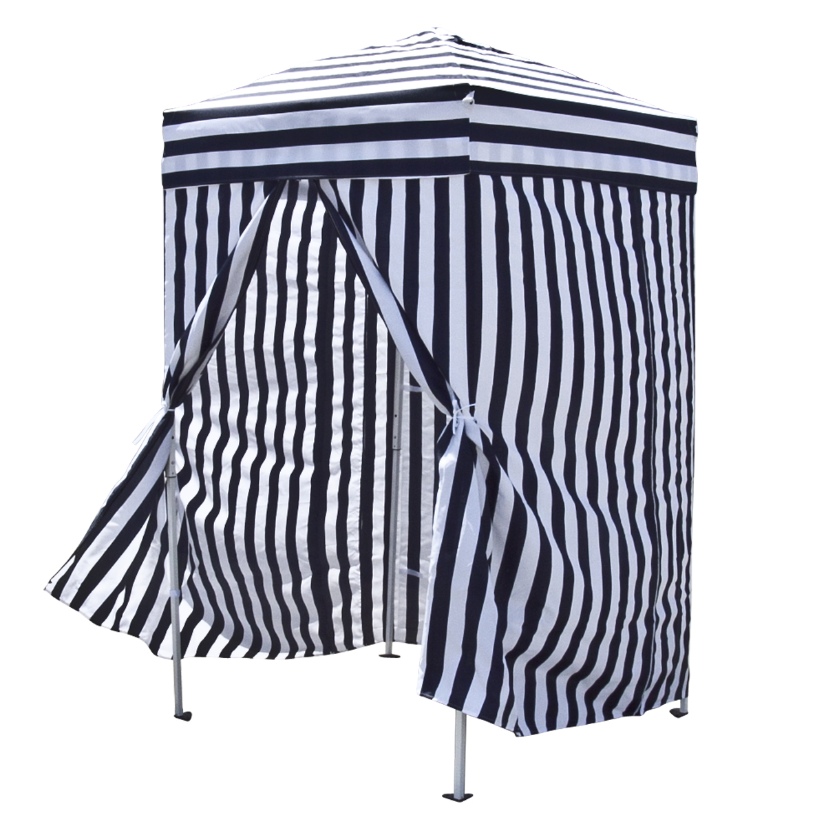Changing Cabana Portable Stripe Room Privacy Tent Pool
