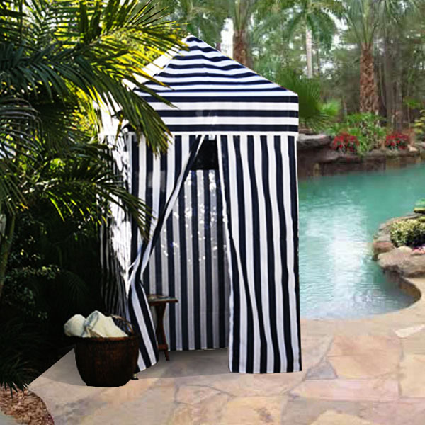 Changing Portable Cabana Stripe Room Privacy Tent Pool