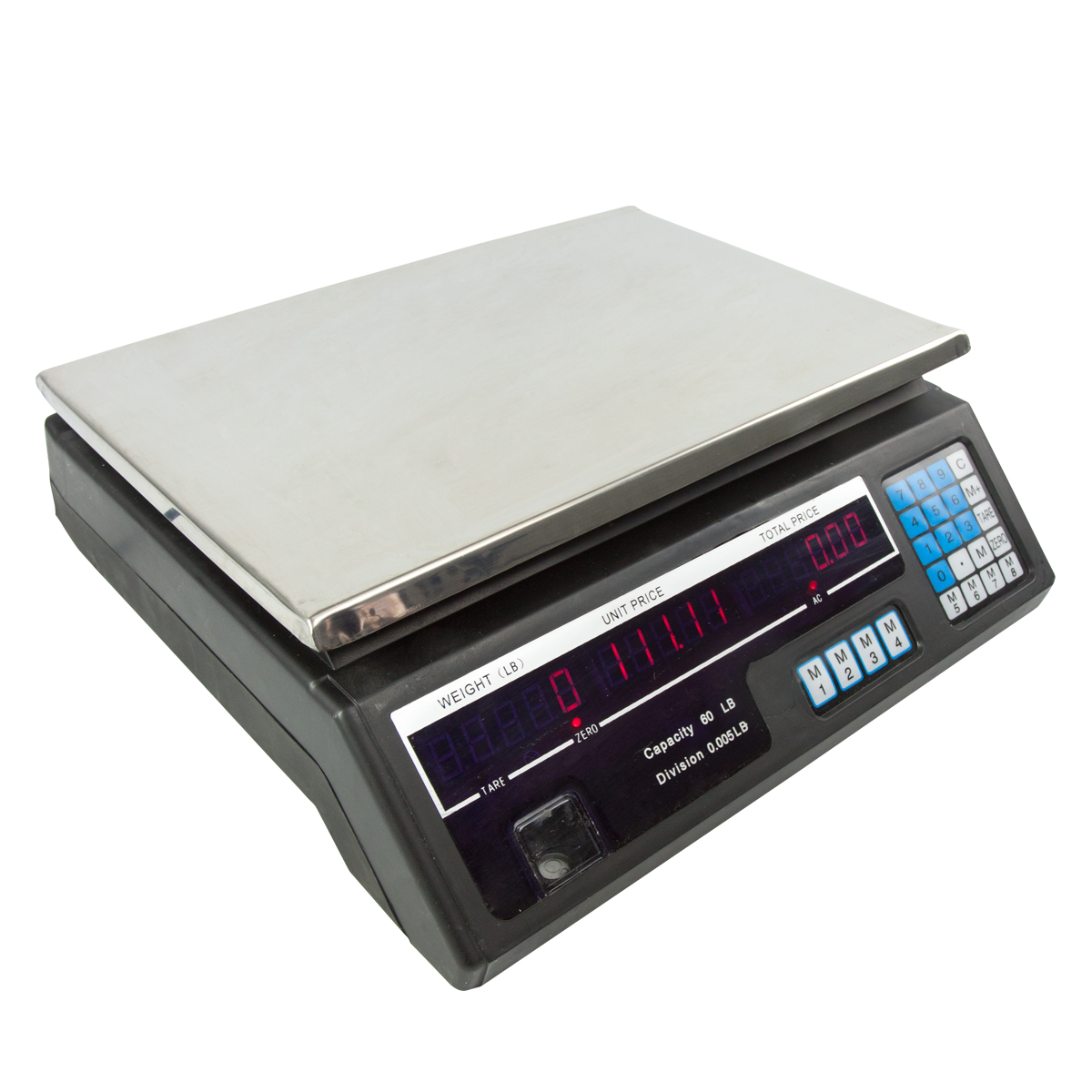 60 LB Digital Produce Price Food Scale Market Weight Meat ...