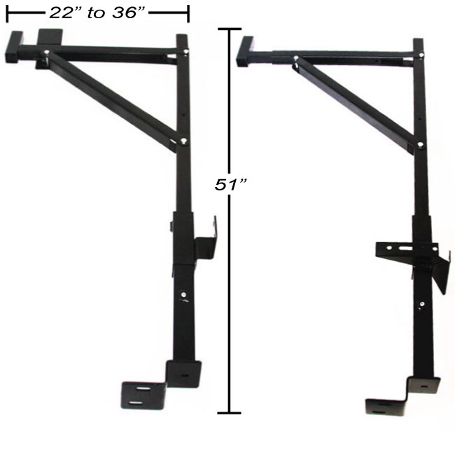 Kayak Racks For Pickup Trucks >> Side Mount Contractor Pickup Truck Ladder Lumber Rack | eBay