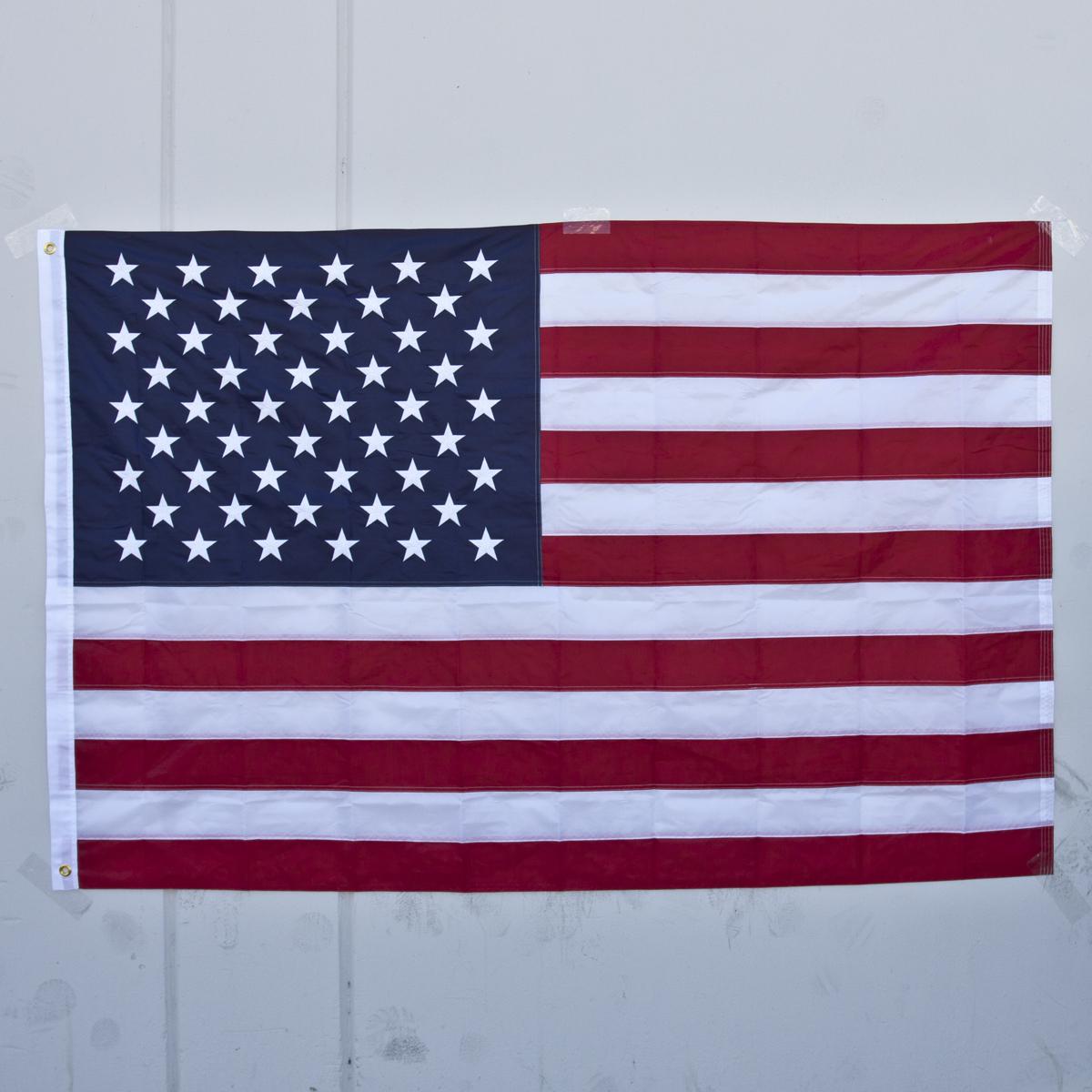 New American Flag USA 3'x5' FT U.S.Sewn Stripes