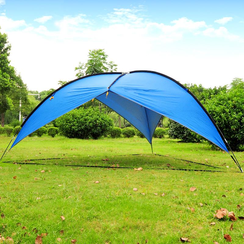 Pop Up Cabana Pool : Beach tent x pop up cabana shelter blue sun
