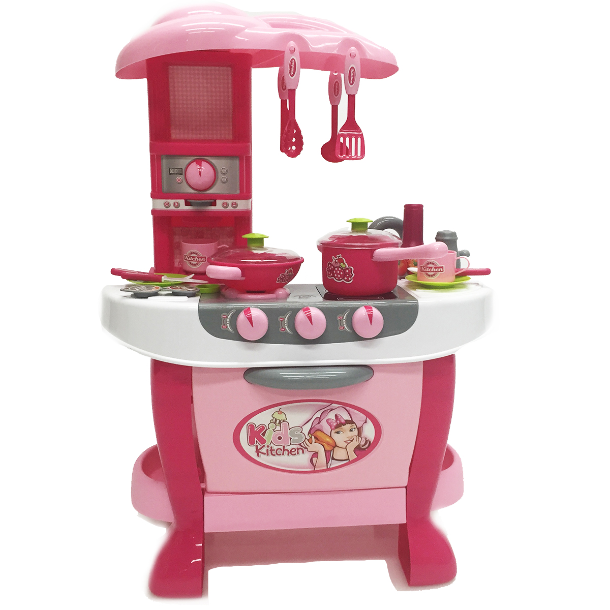 Kitchen Counters On Toys: Kitchen Playset Toy 31 PC Stove Play Set Chef Utensil Pots