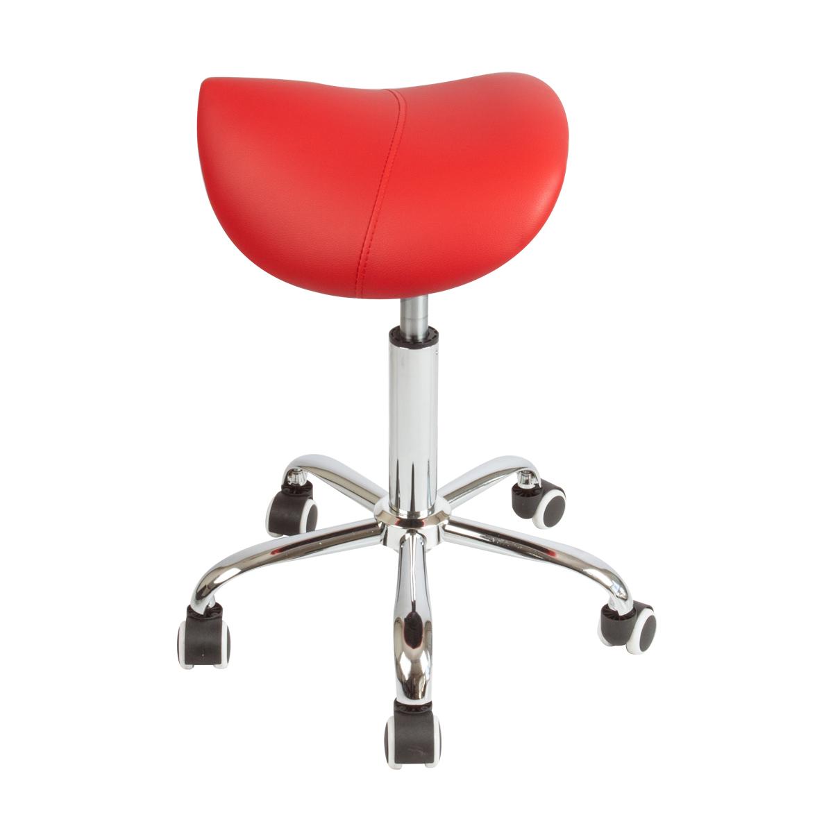 2 Spa Salon Stool Hydraulic Saddle Rolling Chair Tattoo
