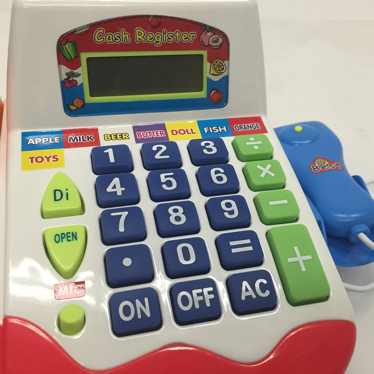 pretend u0026 play toy calculator cash cashier register kids new learning resources - Learning Resources Cash Register