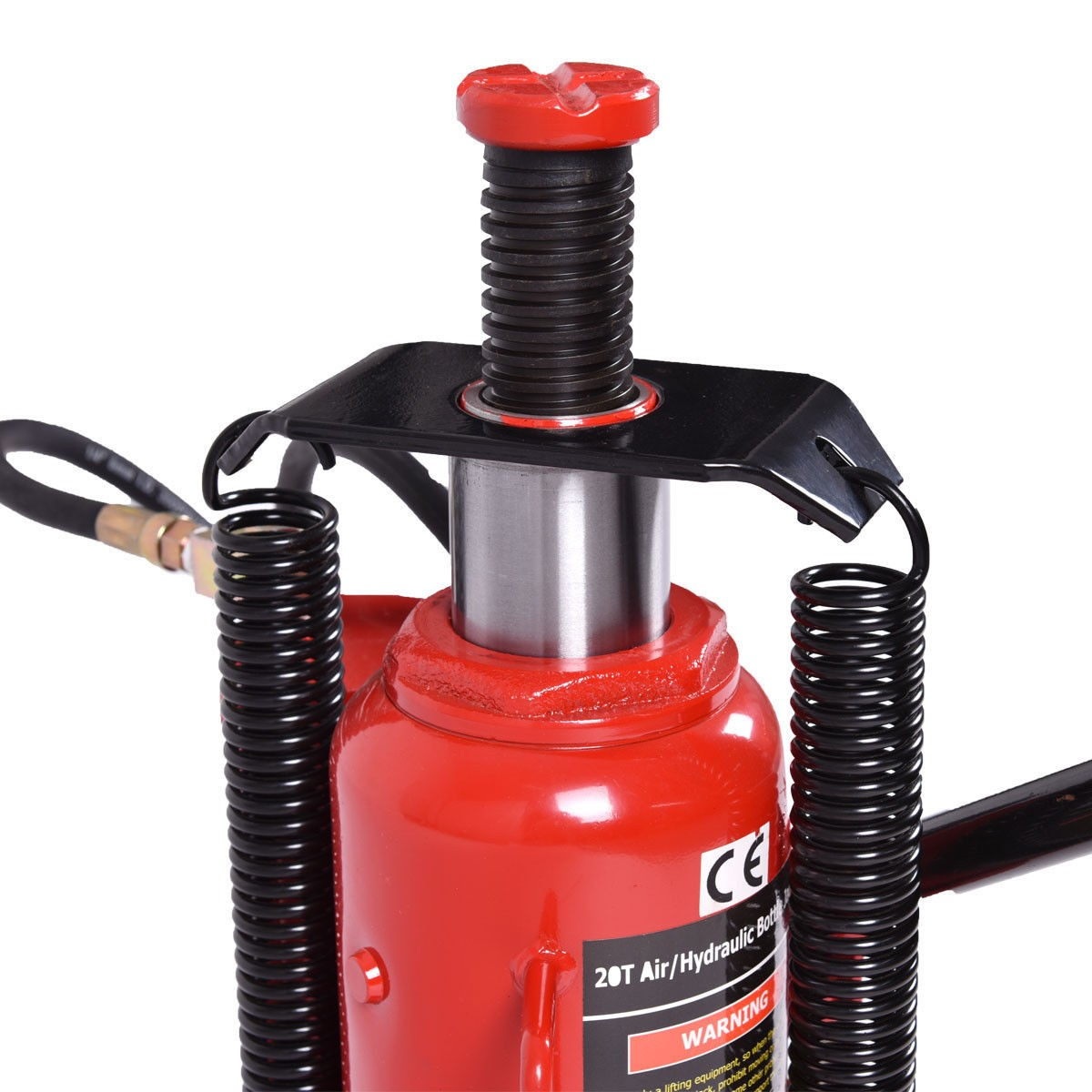 Automotive Lifts And Jacks : T ton air hydraulic bottle jack lb heavy duty auto