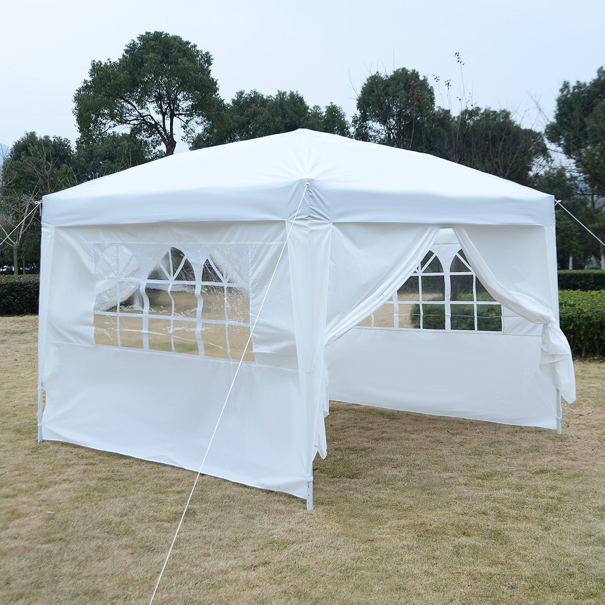 Apontus Outdoor Easy Pop Up Tent Cabana Canopy Gazebo with ...