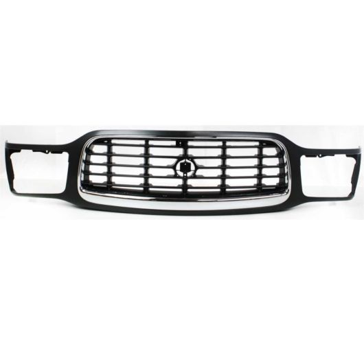 12474498 New Grille Assembly Chrome trim black insert Cadillac