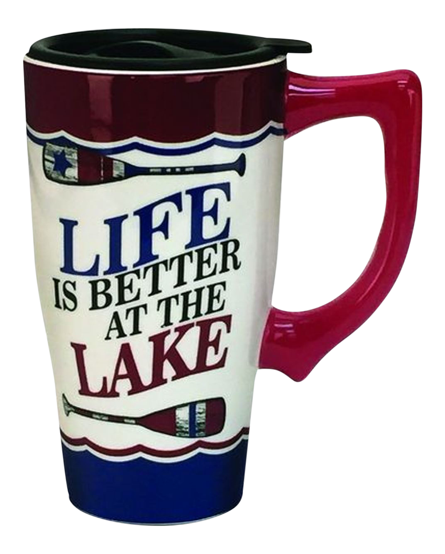 Ounce Ceramic Travel Mug
