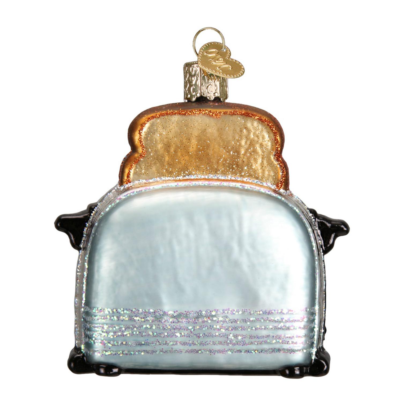 Kitchen Toaster Retro Look Christmas Holiday Ornament Glass | eBay