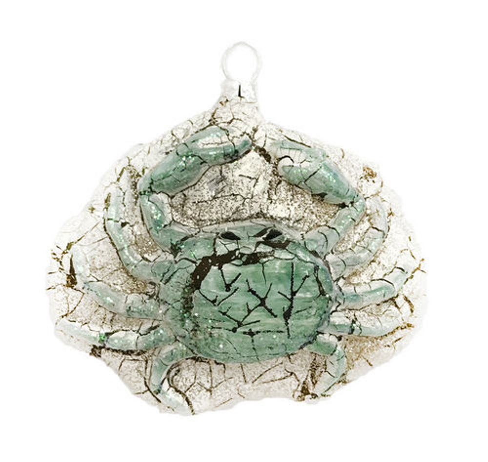 December Diamonds Blue Crab Christmas Holiday Ornament ...