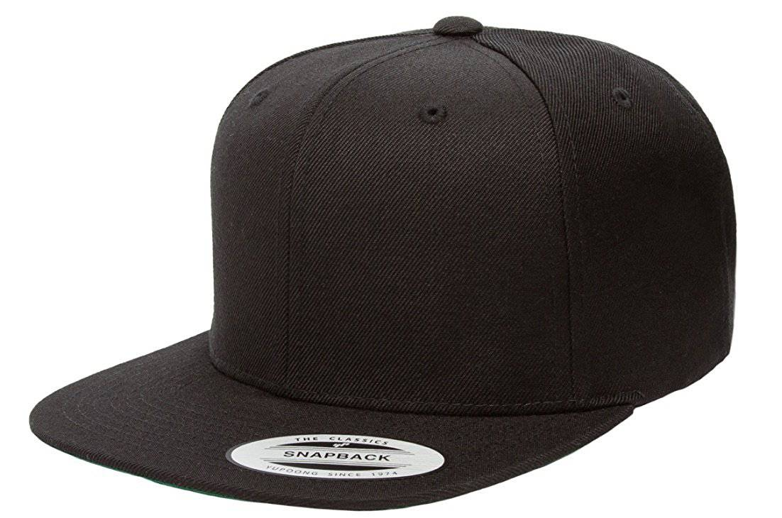 cac8aaca74e Details about Yupoong Classic Style 6-Panel Snapback Cap