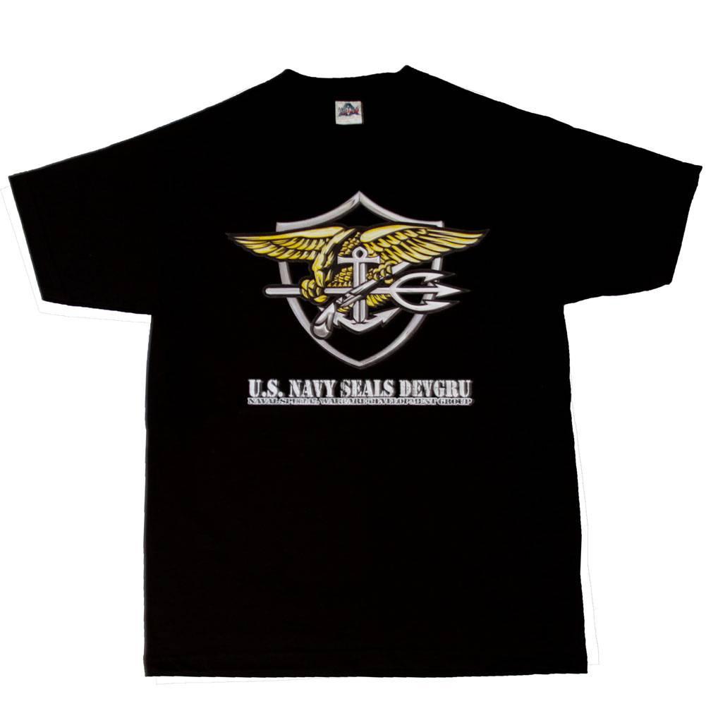 Details about Men's U S  Navy Seals Devgru T-Shirt