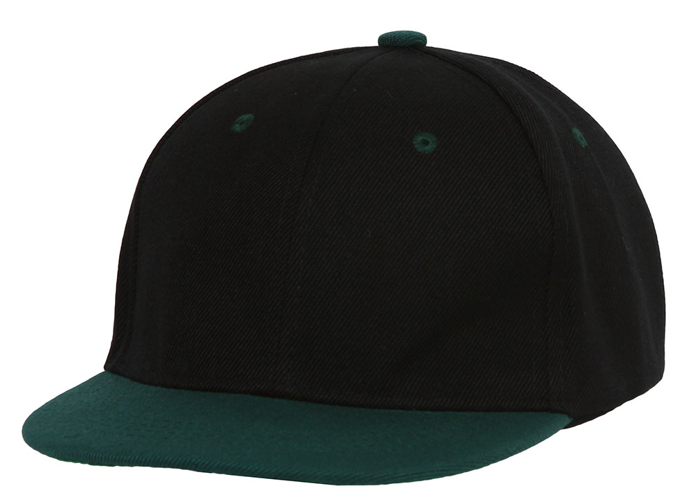 Youth-Blank-Two-Tone-Snapback-Hat thumbnail 5