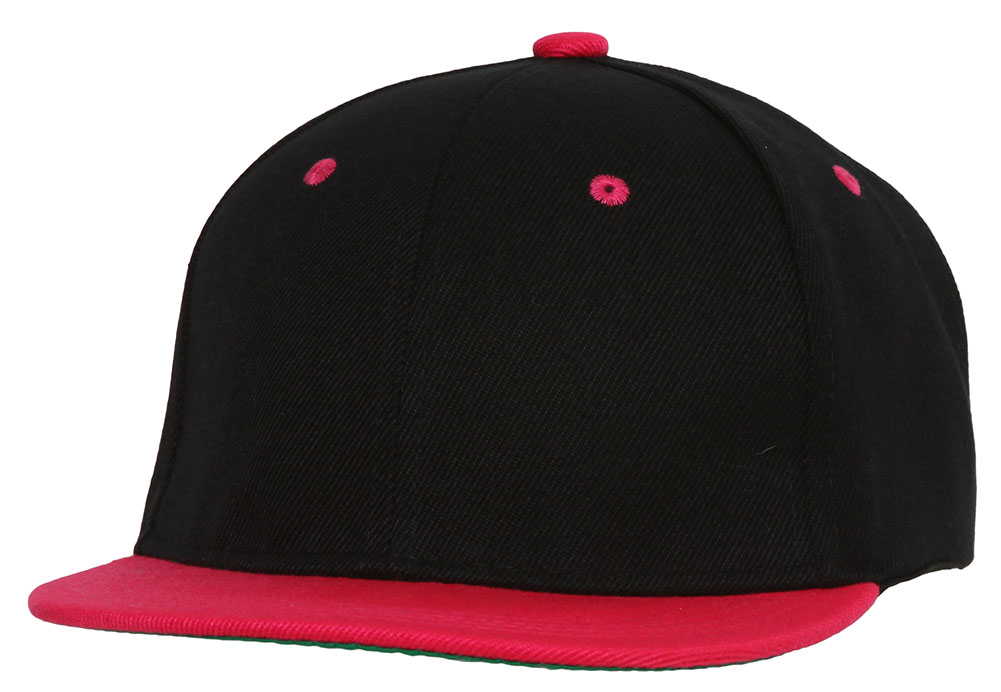 Youth-Blank-Two-Tone-Snapback-Hat thumbnail 8
