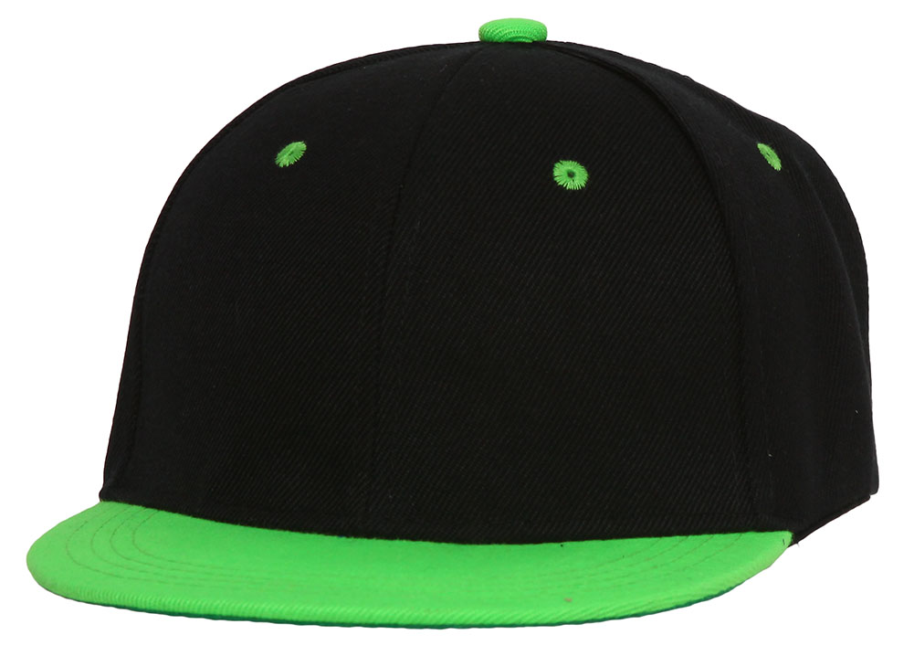 Youth-Blank-Two-Tone-Snapback-Hat thumbnail 11