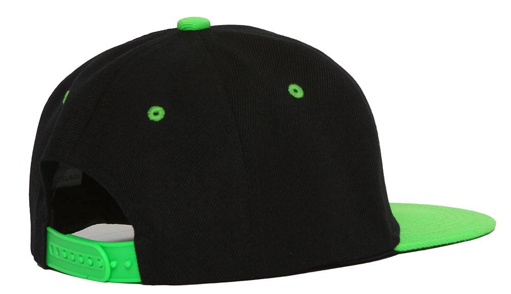 Youth-Blank-Two-Tone-Snapback-Hat thumbnail 12