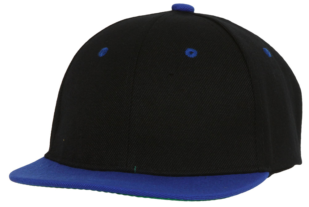 Youth-Blank-Two-Tone-Snapback-Hat thumbnail 14