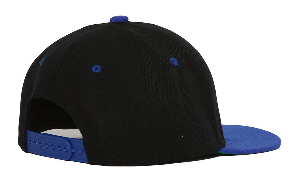 Youth-Blank-Two-Tone-Snapback-Hat thumbnail 15