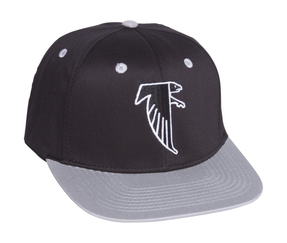 a4809ec1502 Atlanta Falcons Black Grey Two Tone Plastic Snapback Adjustable Cap ...