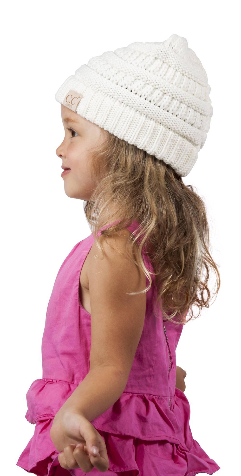 Topheadwear Babies Kids Dinosaur Hand-knitted Beanie