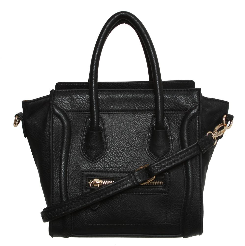 womens designer mini poitiers tote structured shoulder handbag. Black Bedroom Furniture Sets. Home Design Ideas