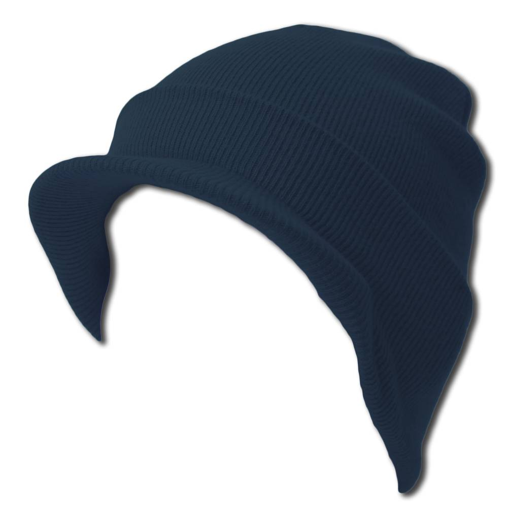 Blank Cuff Beanie Visor Comes in Many Different Colors Navy. About this  product. Picture 1 of 2  Picture 2 of 2 16f704f0f826