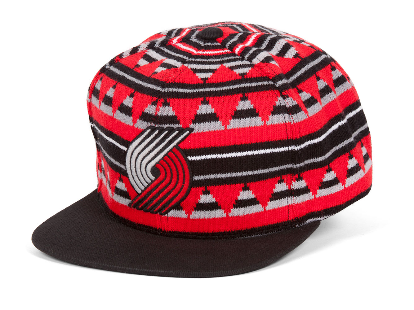 f816da24f30 Details about Mitchell   Ness Men s NBA Mixtec Snapback Hat - Portland  Trailblazers