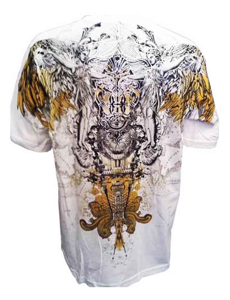 Konflic-Archangel-World-Atlas-MMA-Muscle-Heavy-Weight-T-shirt thumbnail 6