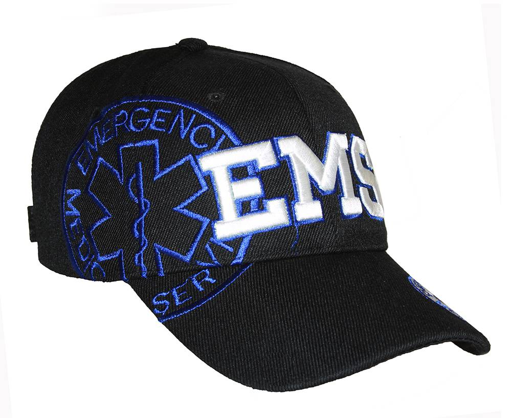 Deluxe-Style-EMS-Emergency-Medical-Service-Paramedics-Hat-Different-Colors thumbnail 5