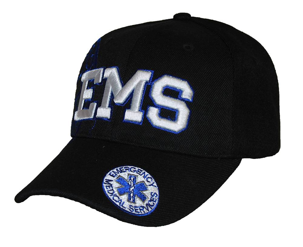 Deluxe-Style-EMS-Emergency-Medical-Service-Paramedics-Hat-Different-Colors thumbnail 6