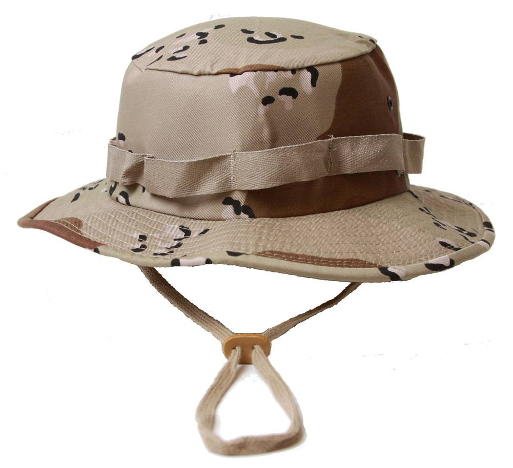 Military Boonie Hat with Drawstring Boonie Hat -(Many Colors) 39da914175d6