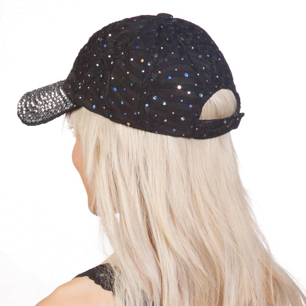 Sequined Baseball Caps Designer Style For  Women /& Teenagers SQCAP5  Z