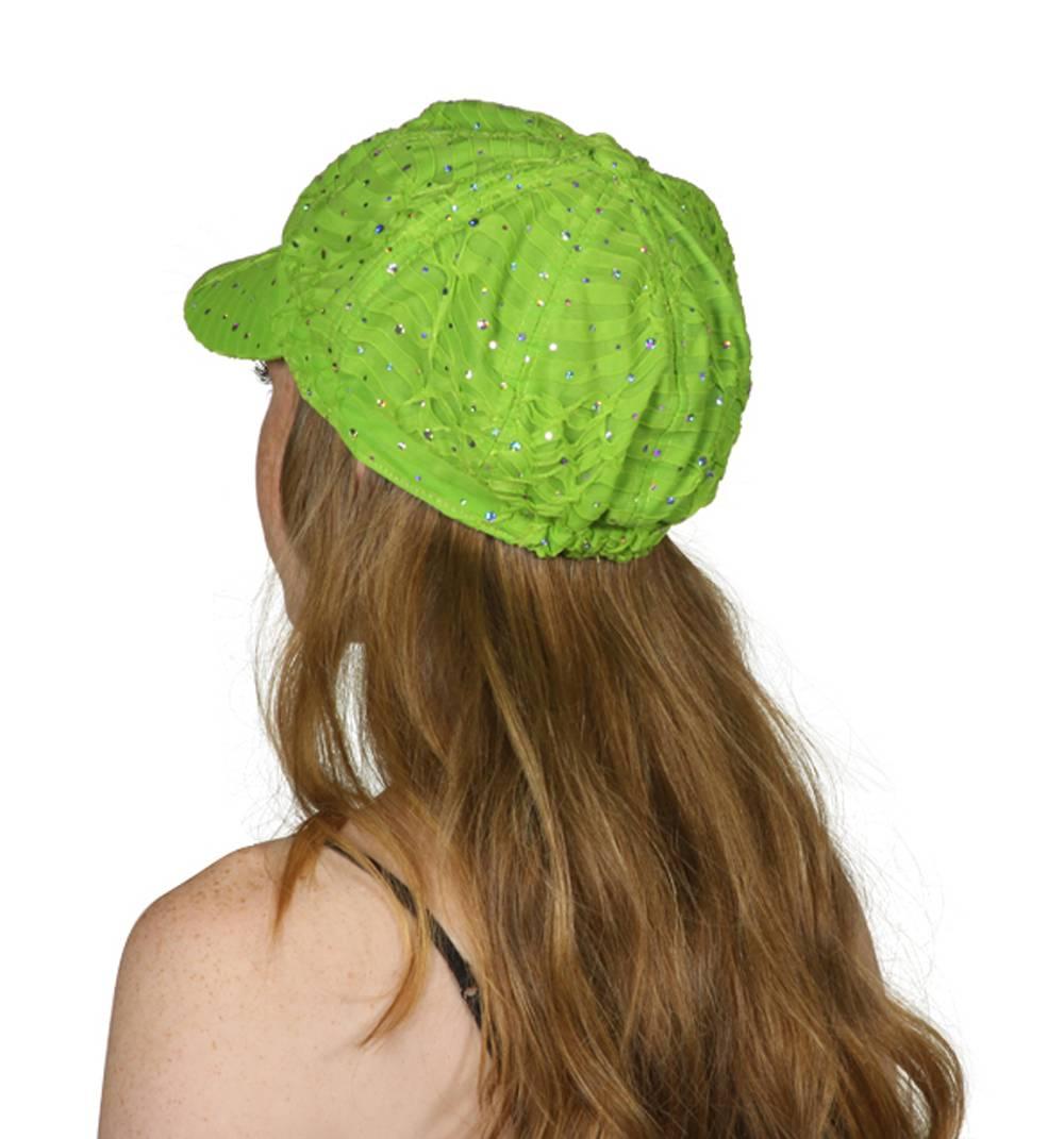 TopHeadwear-Glitter-Sequin-Trim-Newsboy-Hat thumbnail 14