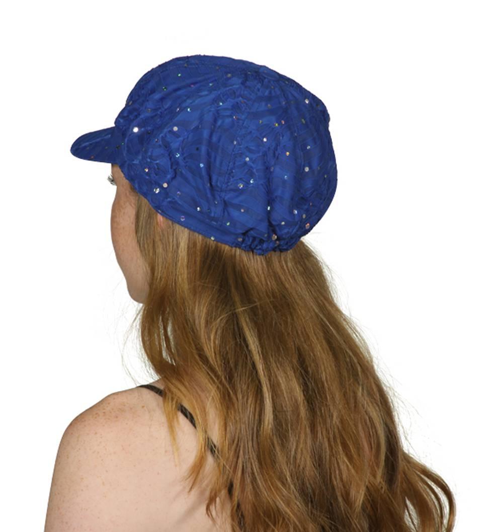 TopHeadwear-Glitter-Sequin-Trim-Newsboy-Hat thumbnail 26
