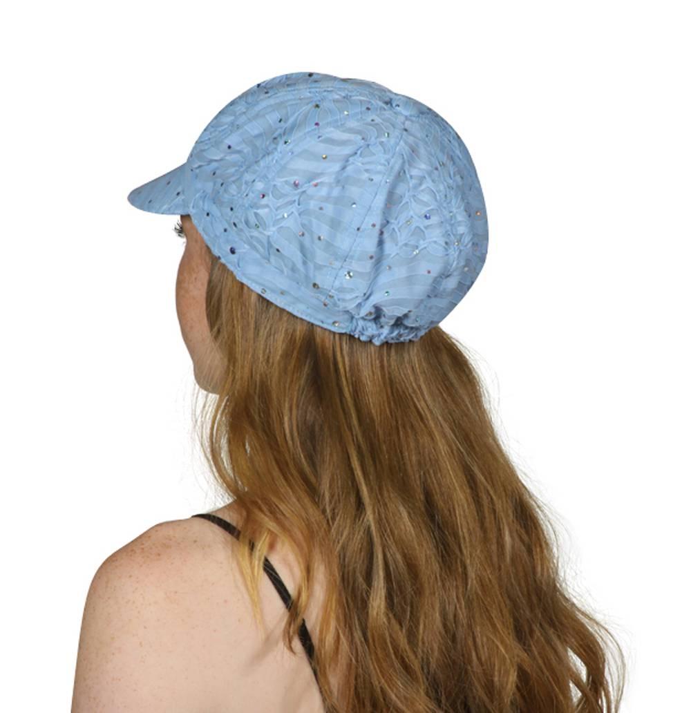 TopHeadwear-Glitter-Sequin-Trim-Newsboy-Hat thumbnail 28