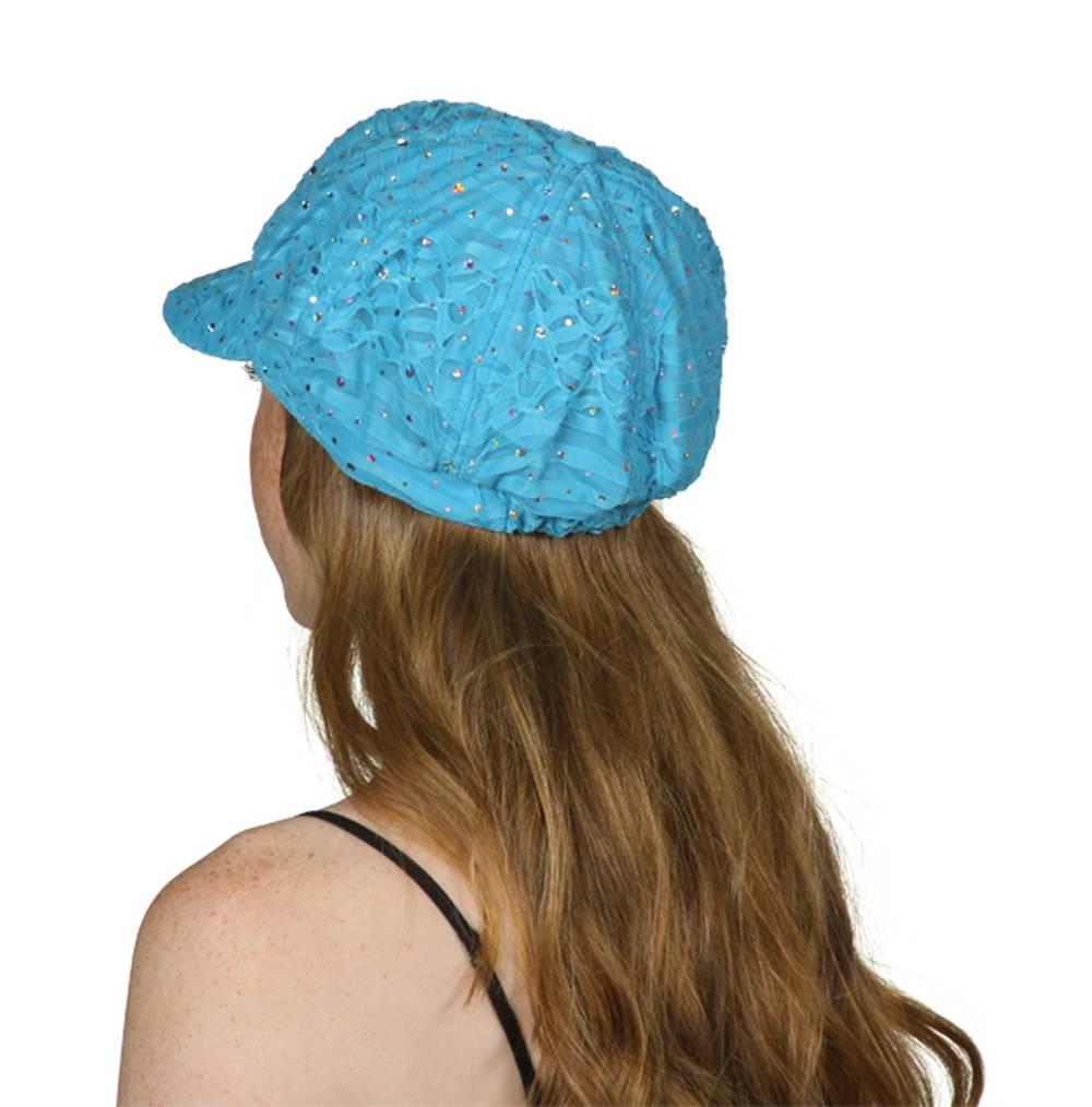 TopHeadwear-Glitter-Sequin-Trim-Newsboy-Hat thumbnail 30