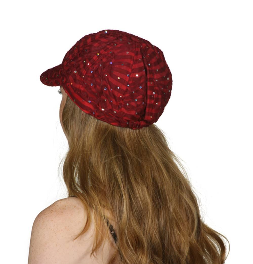 TopHeadwear-Glitter-Sequin-Trim-Newsboy-Hat thumbnail 34