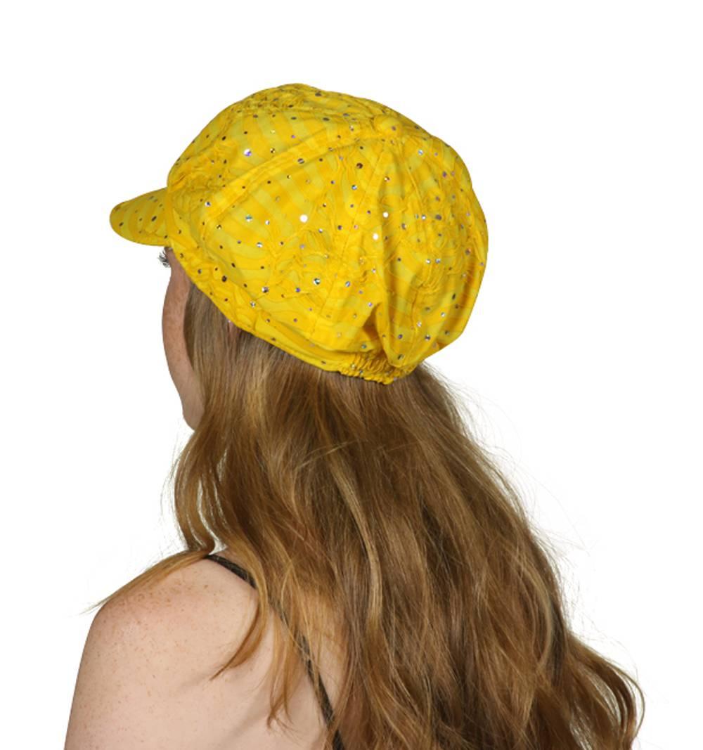 TopHeadwear-Glitter-Sequin-Trim-Newsboy-Hat thumbnail 36
