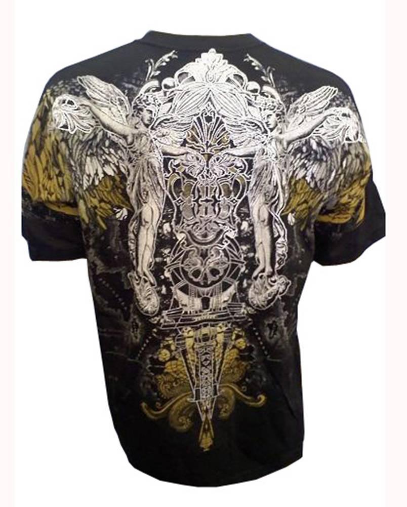 Konflic-Archangel-World-Atlas-MMA-Muscle-Heavy-Weight-T-shirt thumbnail 4