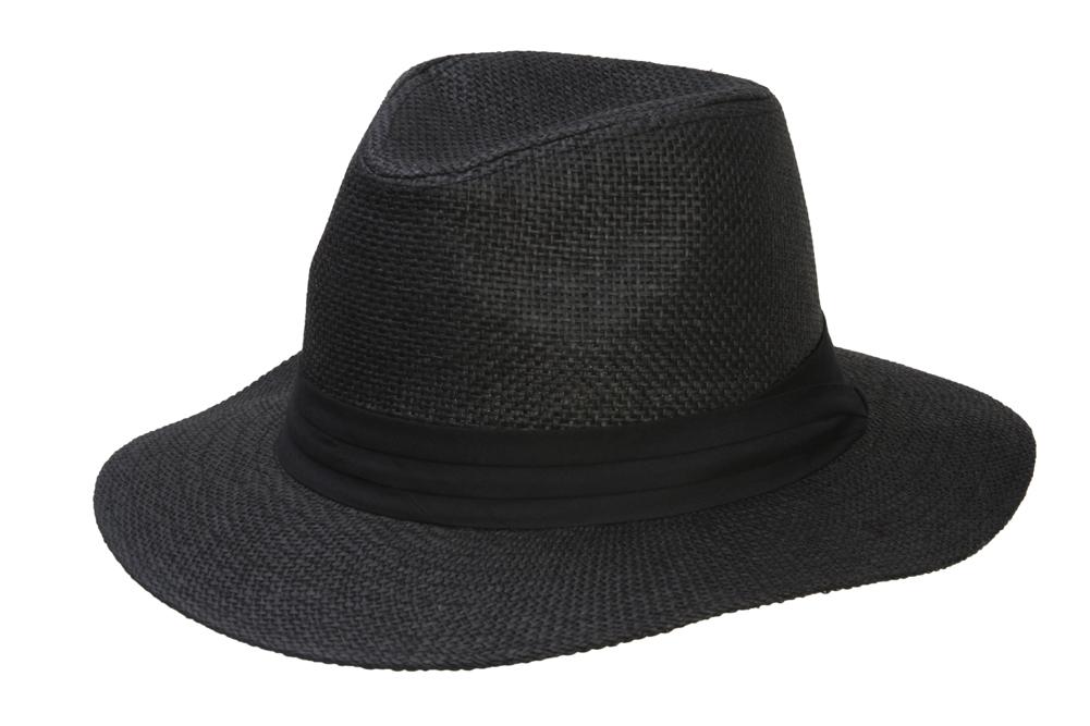 Fashion-Style-Banded-Wide-Brim-Fedora-Hat thumbnail 3
