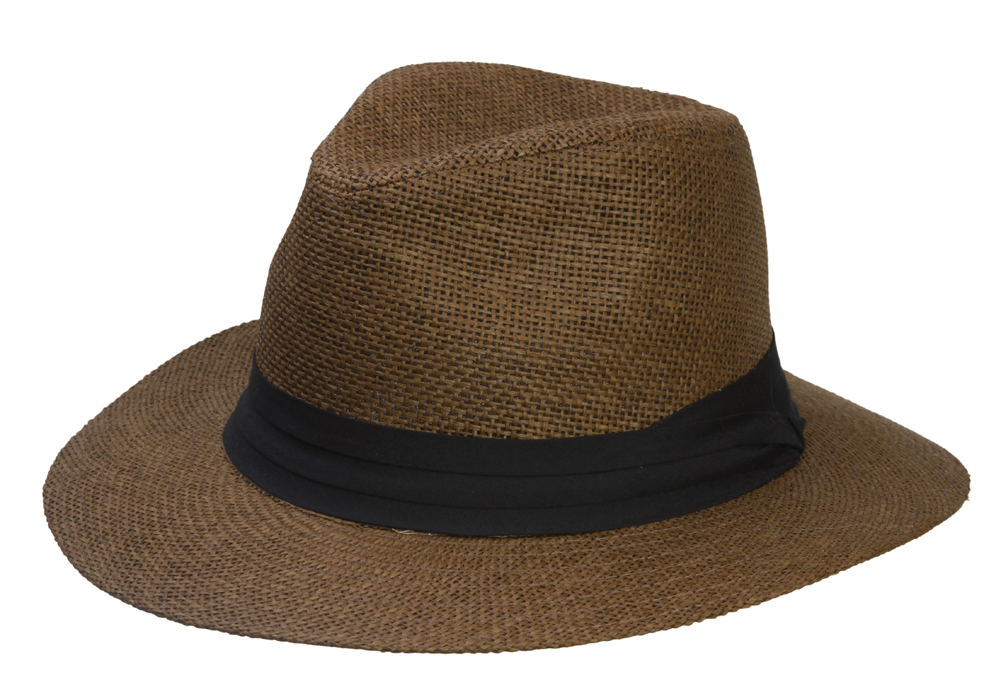 Fashion-Style-Banded-Wide-Brim-Fedora-Hat thumbnail 6