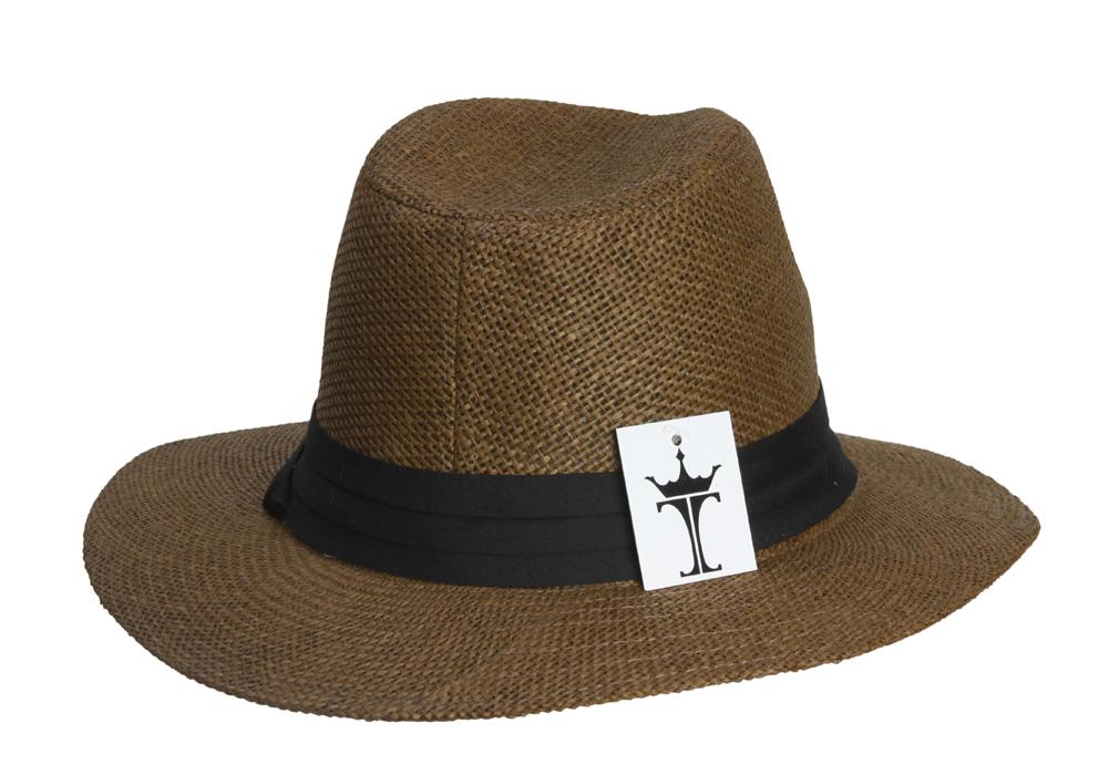 Fashion-Style-Banded-Wide-Brim-Fedora-Hat thumbnail 7