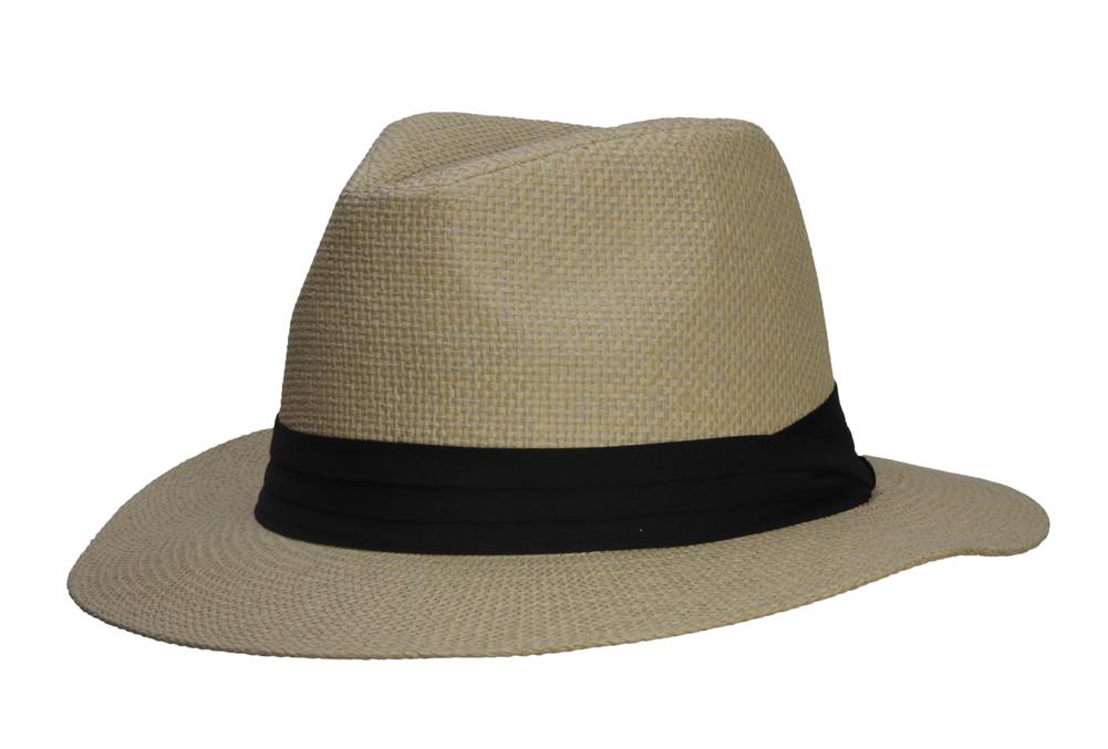 Fashion-Style-Banded-Wide-Brim-Fedora-Hat thumbnail 9