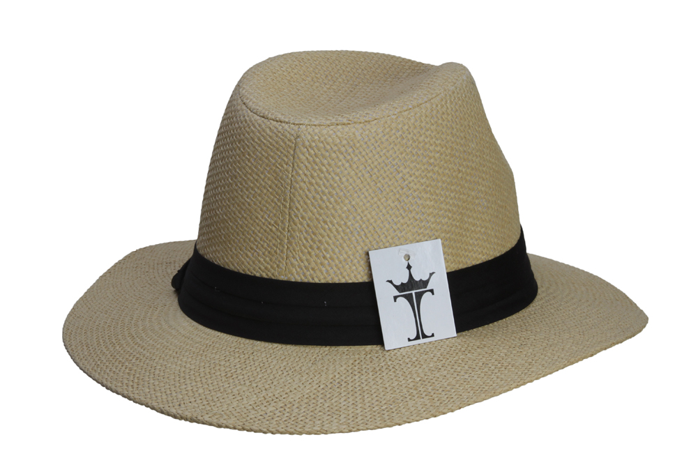 Fashion-Style-Banded-Wide-Brim-Fedora-Hat thumbnail 10