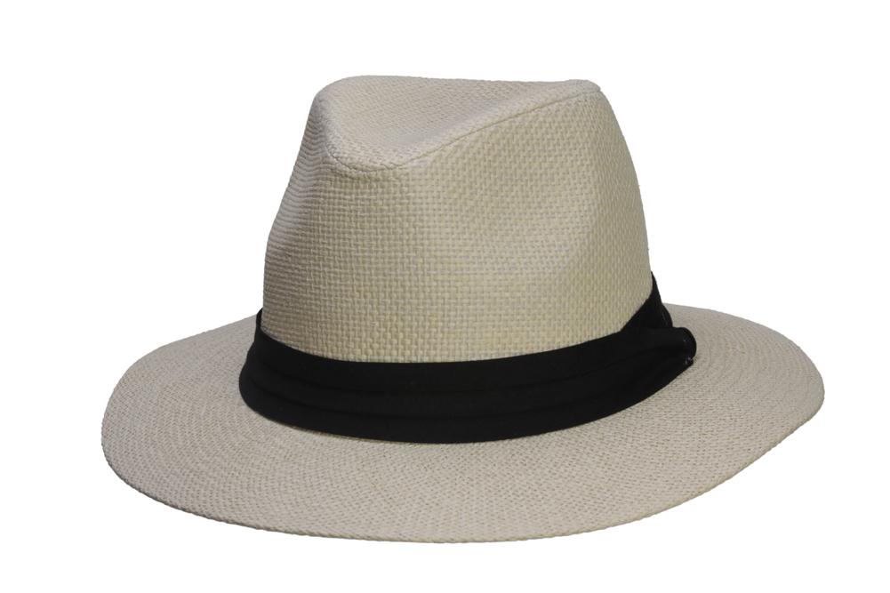 Fashion-Style-Banded-Wide-Brim-Fedora-Hat thumbnail 12