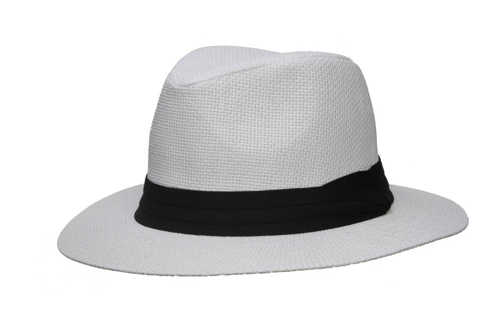 Fashion-Style-Banded-Wide-Brim-Fedora-Hat thumbnail 14