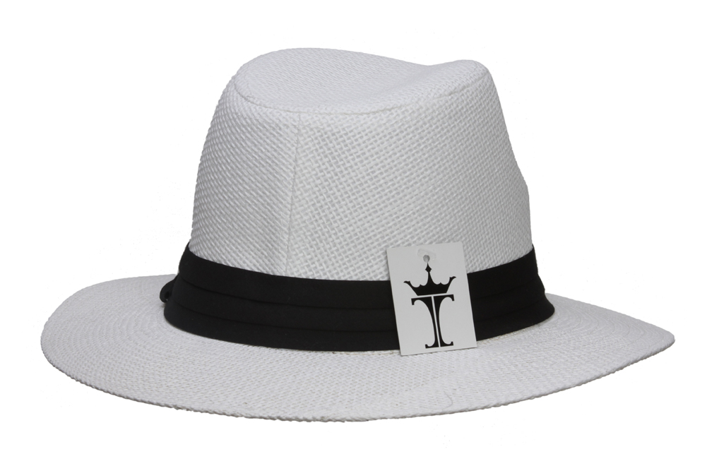 Fashion-Style-Banded-Wide-Brim-Fedora-Hat thumbnail 15