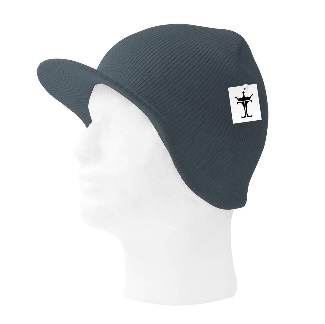 TopHeadwear-Cuffless-Beanie-Cap-with-Visor thumbnail 13